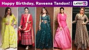 Raveena Tandon Birthday Special: Ringing in an Ethnic Fervour That's Perennially Ravishing and Rapturous!