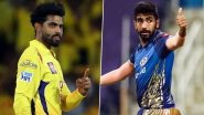 CSK vs MI IPL 2020 Dream11 Team: Ravindra Jadeja, Jasprit Bumrah and Other Key Players You Must Pick in Your Fantasy Playing XI