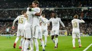How to Watch Borussia Monchengladbach vs Real Madrid, UEFA Champions League 2020–21 Live Streaming Online in India? Get Free Live Telecast of MOB vs RM Group B Game & Football Score Updates on TV