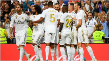 Borussia Monchengladbach vs Real Madrid, UEFA Champions League Live Streaming Online in India: Where to Watch CL 2019–20 Group Stage Match Live Telecast on TV & Free Football Score Updates in IST?