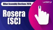 Rosera (SC) Vidhan Sabha Seat in Bihar Assembly Elections 2020: Candidates, MLA, Schedule And Result Date