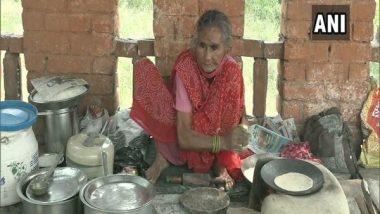 'Rotiwali Amma' in Agra, 80-Year-Old Food Stall Owner, Awaits Support Like 'Baba Ka Dhabha' (Watch Video)