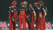 RCB vs KKR, IPL 2021 Live Cricket Streaming: Watch Free Telecast of Royal Challengers Bangalore vs Kolkata Knight Riders on Star Sports and Disney+Hotstar Online
