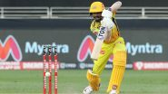 RCB vs CSK Stat Highlights Dream11 IPL 2020: Ruturaj Gaikwad Scores Maiden Half-Century as Chennai Super Kings Win by 8 Wickets