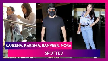 Kareena & Karisma Kapoor's Work Date; Ranveer Singh & Nora Fatehi's Quirky Airport Style; Vicky Kaushal Post Salon Session; Soha Ali Kha & Her Cute Little Daughter Inaaya Spotted