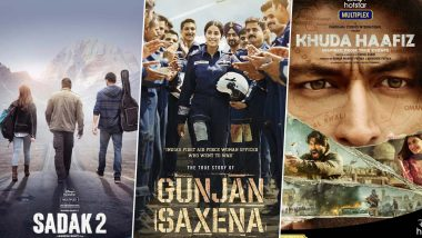 Sadak 2, Gunjan Saxena, Khuda Haafiz and Other Direct OTT Releases to Not Be Premiered by PVR, INOX and Other Multiplex Chains