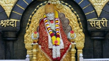 Shirdi Sai Mahasamadhi Day 2020 Date and Significance: Know About The Auspicious Day on Which Shri Sai Baba Left His Soul