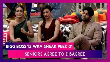 Bigg Boss 14 Weekend Ka Vaar Sneak Peek 01 Oct 19 2020: Seniors Agree To Disagree