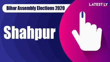 Shahpur Vidhan Sabha Seat in Bihar Assembly Elections 2020: Candidates, MLA, Schedule And Result Date