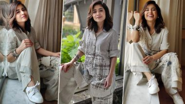 Shweta Tripathi Is Sparking Off Some Checkered Chicness in a Quirky Laidback Style!
