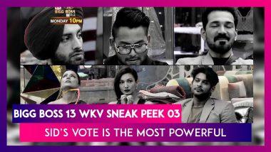 Bigg Boss 14 Weekend Ka Vaar Sneak Peek 03 Oct 19 2020: Sidharth's Vote Is The Most Powerful