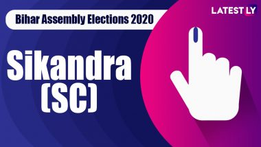 Sikandra (SC) Vidhan Sabha Seat in Bihar Assembly Elections 2020: Candidates, Schedule And Result