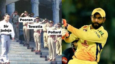 Sir Jadeja Funny Memes and Jokes Flood Twitter After Ravindra Jadeja Shines in Last-Ball Thriller for CSK Against KKR in IPL 2020