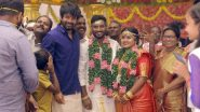 Sulthan Director Bakkiyaraj Kannan And Asha Tie The Knot; Sivakarthikeyan Attends The Wedding Ceremony (View Pics)