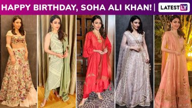Soha Ali Khan Birthday Special: Her Regal Affair With Ethnic Ensembles With an Abundance of Beauty and Elegance!