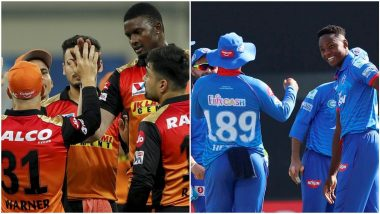 How to Watch SRH vs DC IPL 2020 Live Streaming Online in India? Get Free Live Telecast Sunrisers Hyderabad vs Delhi Capitals Dream11 Indian Premier League 13 Cricket Match Score Updates on TV