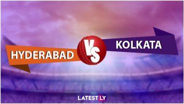 SRH vs KKR Highlights of VIVO IPL 2021: Kolkata Knight Riders Beat Sunrisers Hyderabad by 10 Runs
