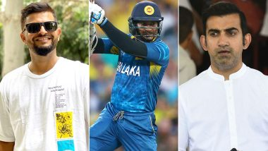 Happy Birthday Kumar Sangakkara: Suresh Raina, Gautam Gambhir Lead Cricket Fraternity in Wishing the Legendary Sri Lankan Batsman