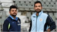 Irfan Pathan Birthday: Suresh Raina Wishes Former Chennai Super Kings Teammate As He Turns 36 (See Post)