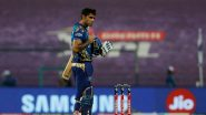 MI Squad for IPL 2021: List of Retained & Released Players by Mumbai Indians Ahead of Mini Auctions