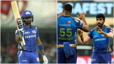 MI vs RCB Stat Highlights Dream11 IPL 2020: Jasprit Bumrah, Suryakumar Yadav Smash New Records in Mumbai Indians' 5-Wicket Win Over Royal Challengers Bangalore