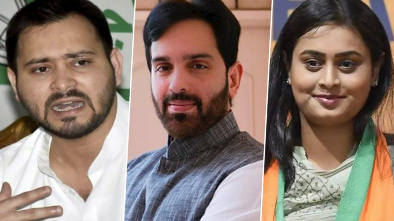 Bihar Assembly Elections 2020: From Tejashwi Yadav to Luv Sinha, Here is The List of Key Candidates