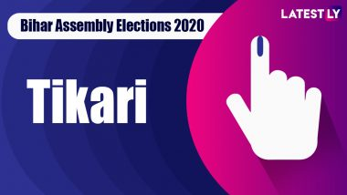 Tikari Vidhan Sabha Seat in Bihar Assembly Elections 2020: Candidates, MLA, Schedule And Result Date