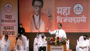Uddhav Thackeray at Shiv Sena's Dussehra Rally: If GST Has Failed, Revert to Old Tax System