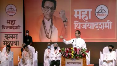 Uddhav Thackeray Lashes Out at BJP For Questioning His Hindutva and Over Free COVID-19 Vaccine Promise in Bihar; Top Quotes From Shiv Sena Chief's Dussehra Speech