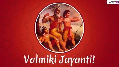 Valmiki Jayanti 2020 Date and Shubh Muhurat: Know History, Significance and Rituals of Pragat Diwas