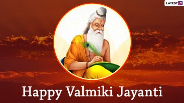 Valmiki Jayanti 2020 HD Images and Wallpapers For Free Download Online: WhatsApp Messages, Facebook Photos, SMS Greetings to Send on Pargat Diwas