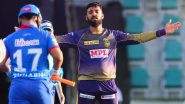 KKR vs DC Stat Highlights IPL 2020: Varun Chakravarthy Takes First Five-Wicket Haul of Season as Kolkata Knight Riders Win by 59 Runs