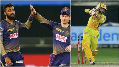 CSK vs KKR Stat Highlights Dream11 IPL 2020: Ravindra Jadeja, Varun Chakravarthy Write New Records in Chennai Super Kings' 6-Wicket Win Over Kolkata Knight Riders