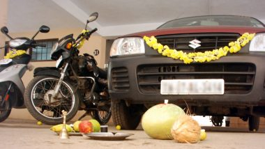 Dussehra 2020 Ayudha Puja Celebrations: Here's Why People Clean Cars & Other Vehicles on Vijayadashami, Know Significance Behind This Important Ritual