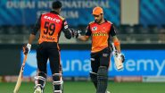 Manish Pandey, Vijay Shankar Hailed by Fans as Sunrisers Hyderabad Thrash Rajasthan Royals by Eight Wickets in Dream11 IPL 2020