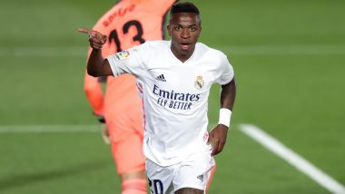 Real Madrid vs Real Valladolid, La Liga 2020–21 Goal Video Highlights: Vinicius Junior's Winner Guides Los Blancos to 1–0 Victory