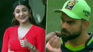 IPL 2020: Virat Kohli Asking Anushka Sharma If She Had Food From The Field Is Winning The Internet