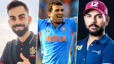 Happy Birthday Zaheer Khan: Virat Kohli, Yuvraj Singh, Virender Sehwag Lead Cricket Fraternity in Wishing the Legendary Indian Pacer