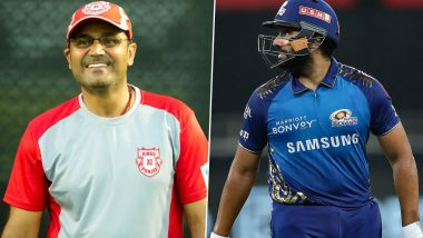 IPL 2020: Virender Sehwag Takes Dig at Rohit Sharma's Fitness, Calls Mumbai Indians Captain 'Vada Pav'
