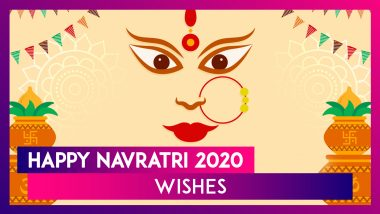 Happy Navratri 2020 Wishes: WhatsApp Messages, HD Photos & Messages to Send on Navaratri Festival