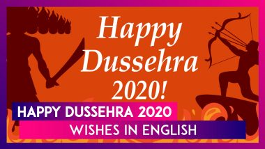 Happy Dussehra 2020 Greetings, WhatsApp Messages, Photos & Dasara Wishes to Send on Vijayadashami