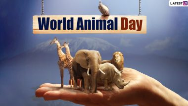 World Animal Day 2020 Date and Significance: Know History and Celebrations of The Day That Promotes Animal Welfare Movement