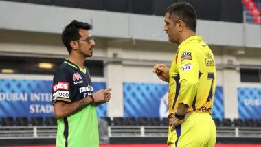 Yuzvendra Chahal Pays Tribute to MS Dhoni, Calls CSK Skipper His 'Guiding Light' (See Post)