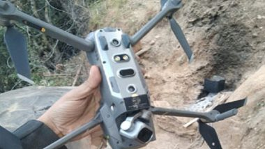 Pakistan Quadcopter Shot Down by Indian Army in Jammu and Kashmir's Keran Sector