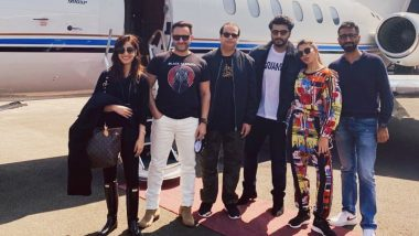 Bhoot Police: Yami Gautam, Jacqueline Fernandez, Saif Ali Khan, Arjun Kapoor Take Chartered Plane to First Shooting Location (See Pic)