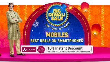 Flipkart Big Diwali Sale 2020 Begins Today; Big Discounts on Smartphones, Gadgets, Electronics & More