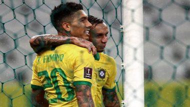 Brazil vs Peru, Copa America 2021 Live Streaming Online & Match Time in IST: How to Get Live Telecast of BRA vs PER on TV & Free Football Score Updates in India