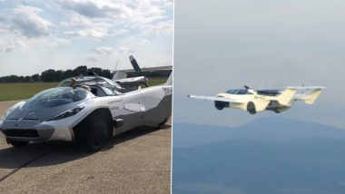 AirCar, Developed by Slovakian Company KleinVision, Transforms Into Airplane in 3 Minutes During test Flight; Watch Video
