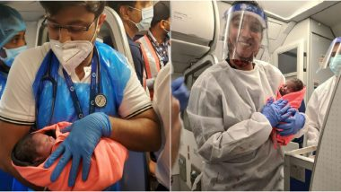 Baby Boy Born on Board IndiGo Delhi-Bengaluru Flight, Pictures Viral