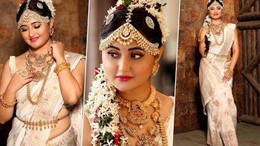 Navratri 2020 Day 3 Colour White: Rashami Desai Looks Like An Apsara In Her Recent Traditional Avatar (View Pics)
